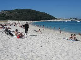 La Playa de Rodas en España