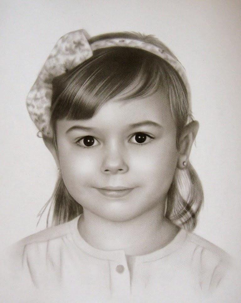 retratos-de-ninos-en-lapiz