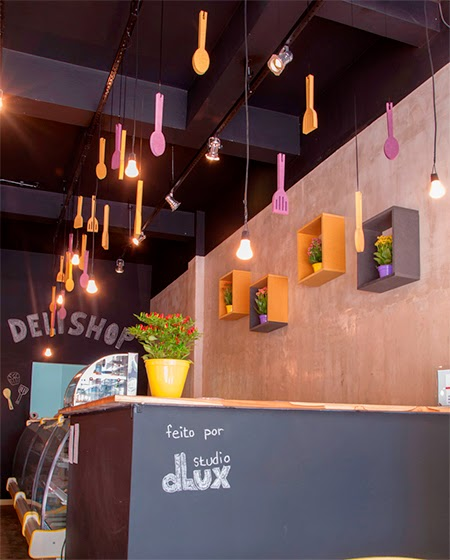 decoração, restaurante, descolado
