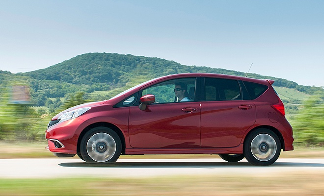 2014 Nissan Note side view