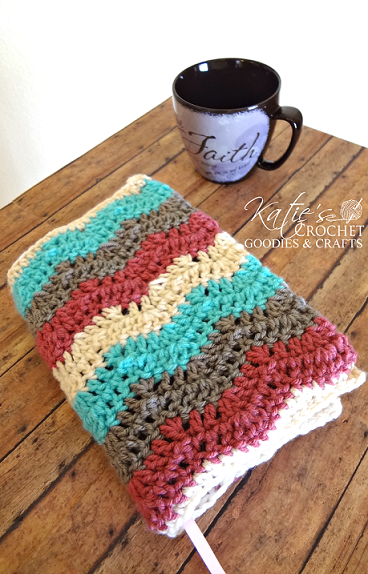 Book Cover Crochet Instructions : Free crochet pattern bible cover or case katie s