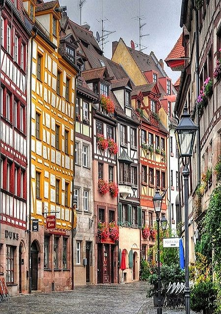 Nuremberg, Germany. If I go here for a grad trip I have a house to stay at and friends to show us around town