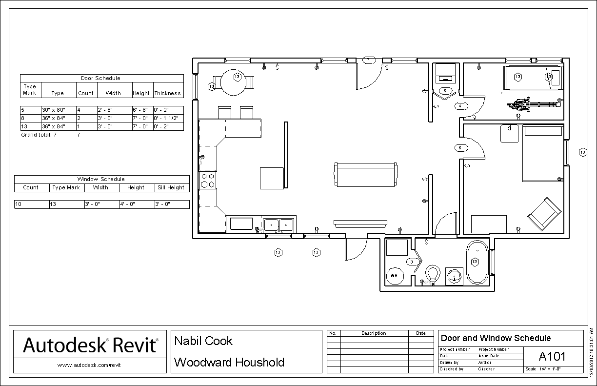 Nabil 39 s cea blog habitat for humanity house project for Schedule of doors and windows sample