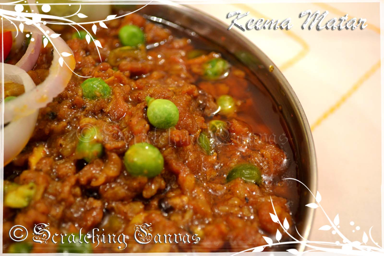 Keema matar minced mutton gravy with peas keema matar forumfinder Images