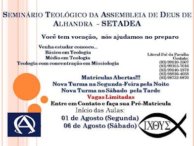 Seminário Teológico - SETADEA