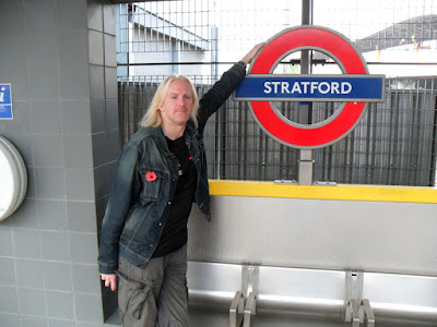 We finally make it to Stratford!