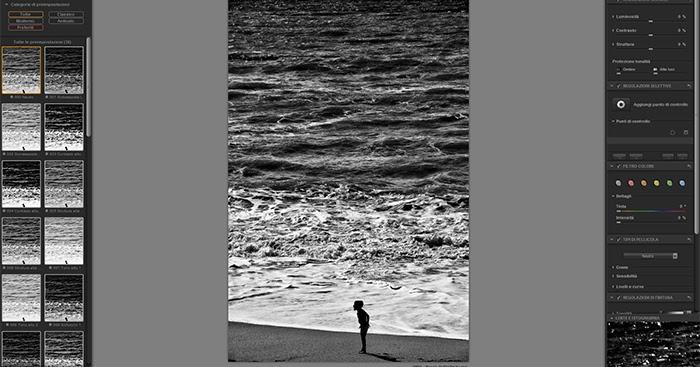 Come realizzare foto in bianco e nero di alto livello con i plugin per Photoshop