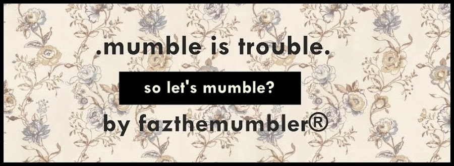 mumble is trouble