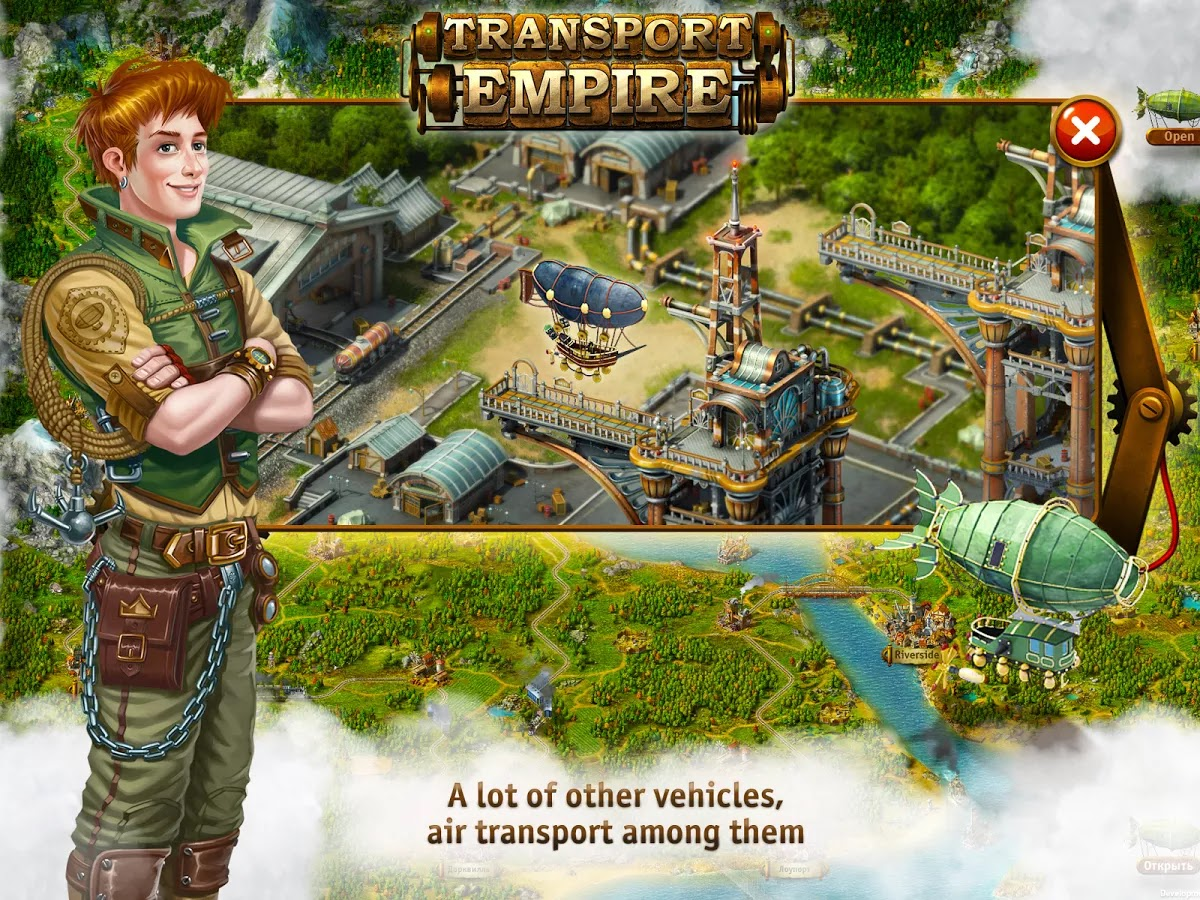 Transport Empire - Tycoon v1.04.03 Mod [Unlimited Money]