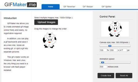Aplicacion para crear o editar imagenes animadas