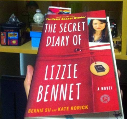 Livro The Secret Diary of Lizzie Bennet