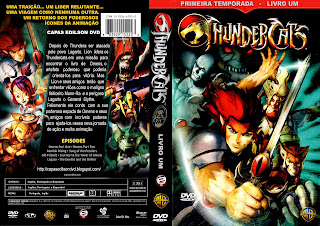 Thundercats on Thundercats 1 Temporada Livro 1   Edilson Dvd