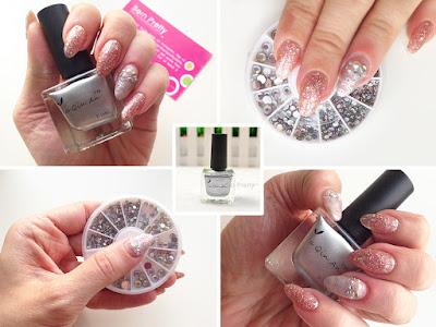 Born Pretty Store Review Silver Stamp Polish Ya Qin An