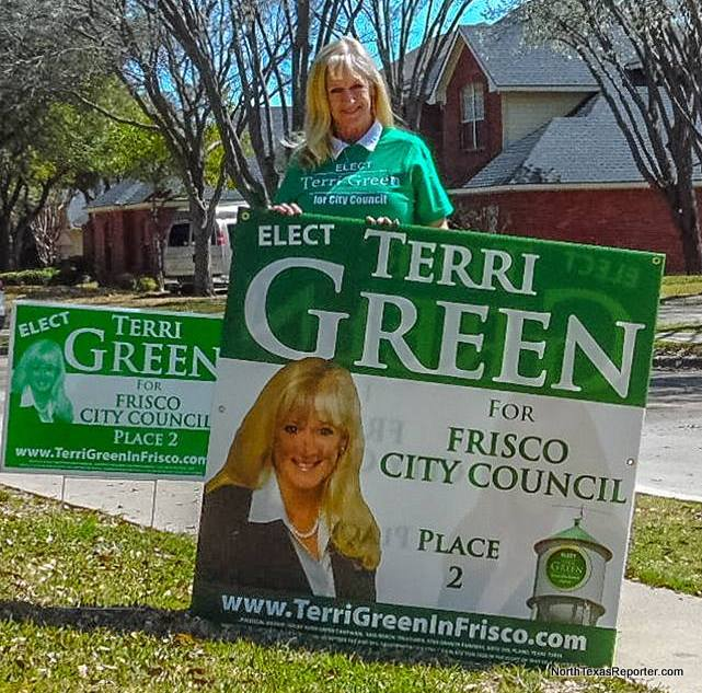 Terri Green for Frisco