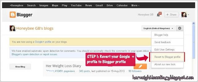 Google+: How to Fix a No-Reply Blogger