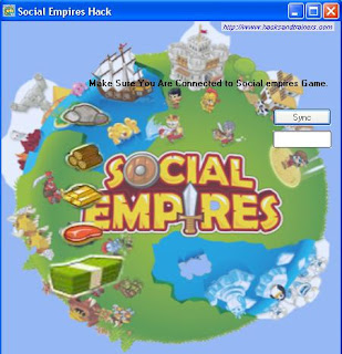 Social Empires Hack Interface