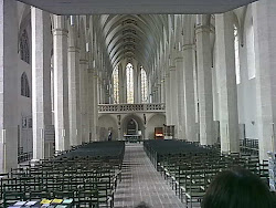 Blick in die Erfurter Predigerkirche