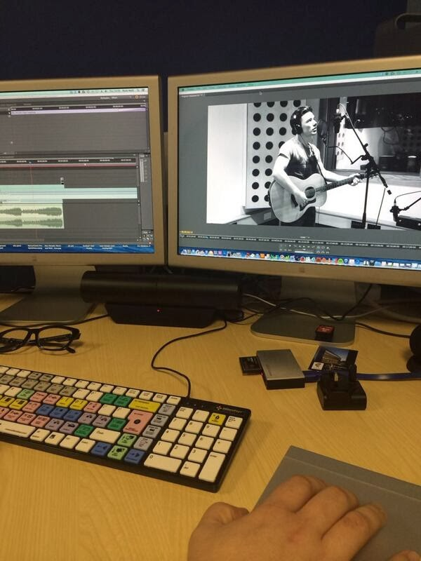 The editing of Max Murphy's Music Video
