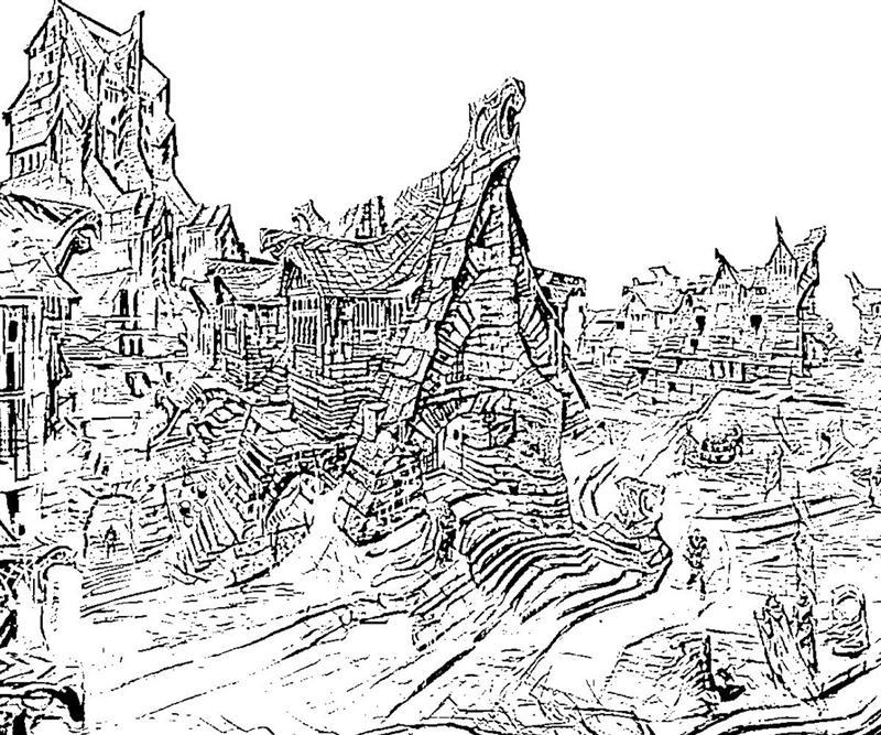 Printable Elder Scrolls Skyrim Windhelm Coloring Pages