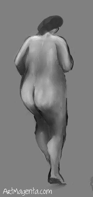 Figure drawing, Croquis from ArtMagenta.com