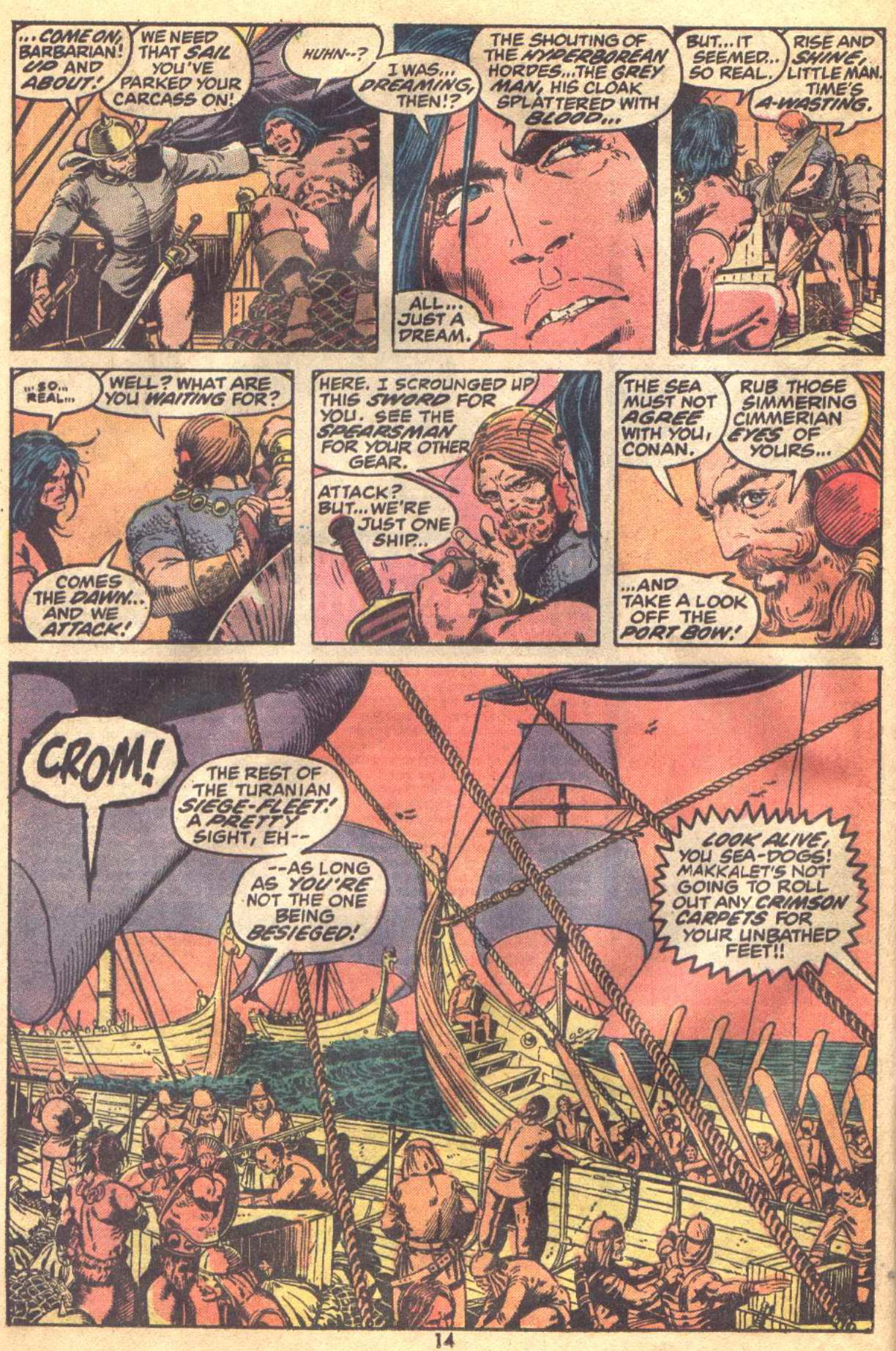Conan the Barbarian (1970) Issue #19 #31 - English 11