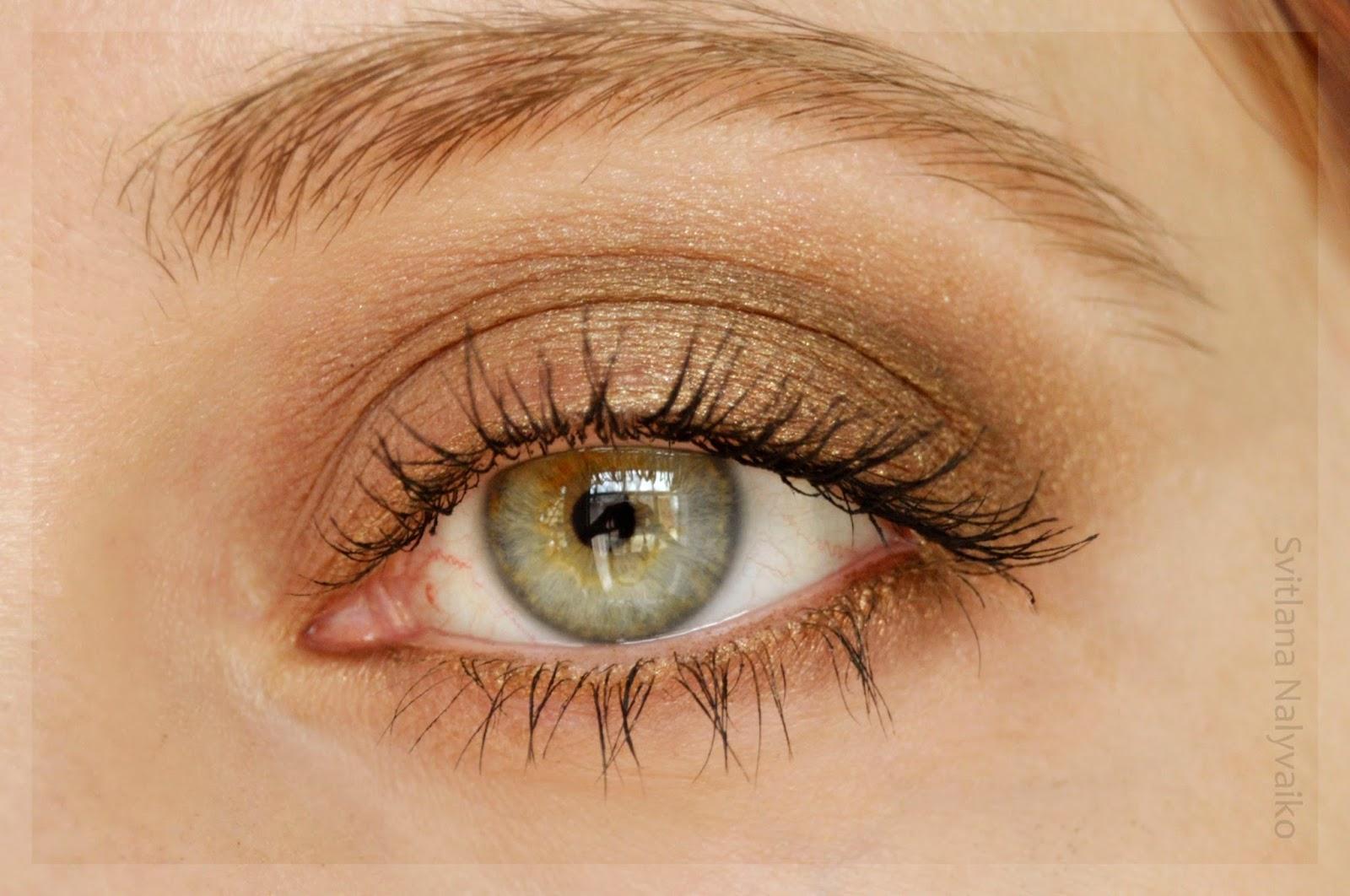 Свотчи и Отзывы Тени для век Lamel Professional в оттенках 302 Browns и 305 Romantic Eyeshadow swatch