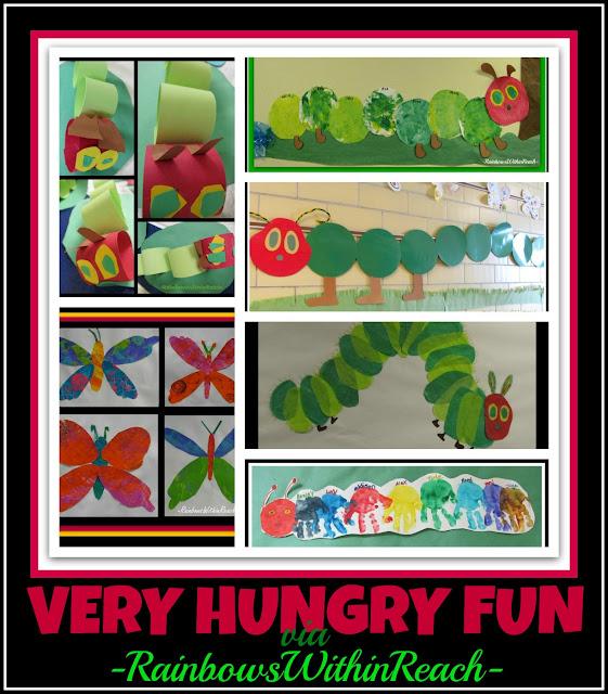 photo of: Very Hungry Caterpillar Art Responses (Via RainbowsWithinReach)
