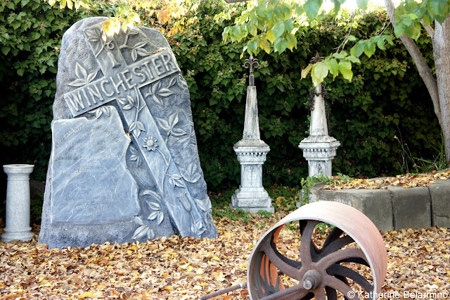 Replica of the Winchester Family Tombstone