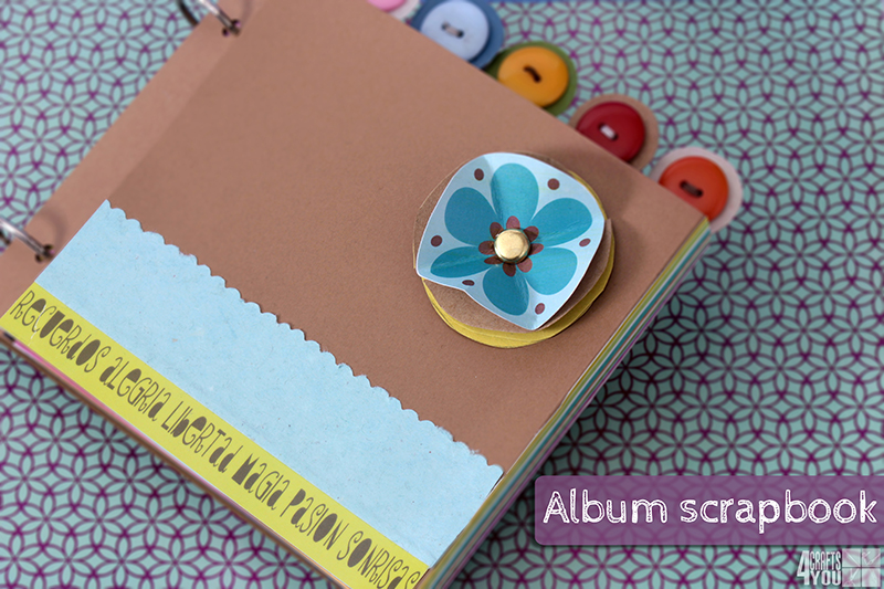 Mini album scrapbook facil y rapido aprender - Manualidades album de fotos ...