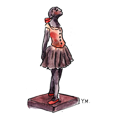Dancer by Yukié Matsushita
