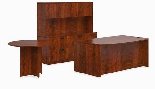 Large Executive Desk Set by Offices To Go