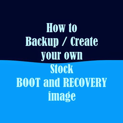 stock boot recovery image