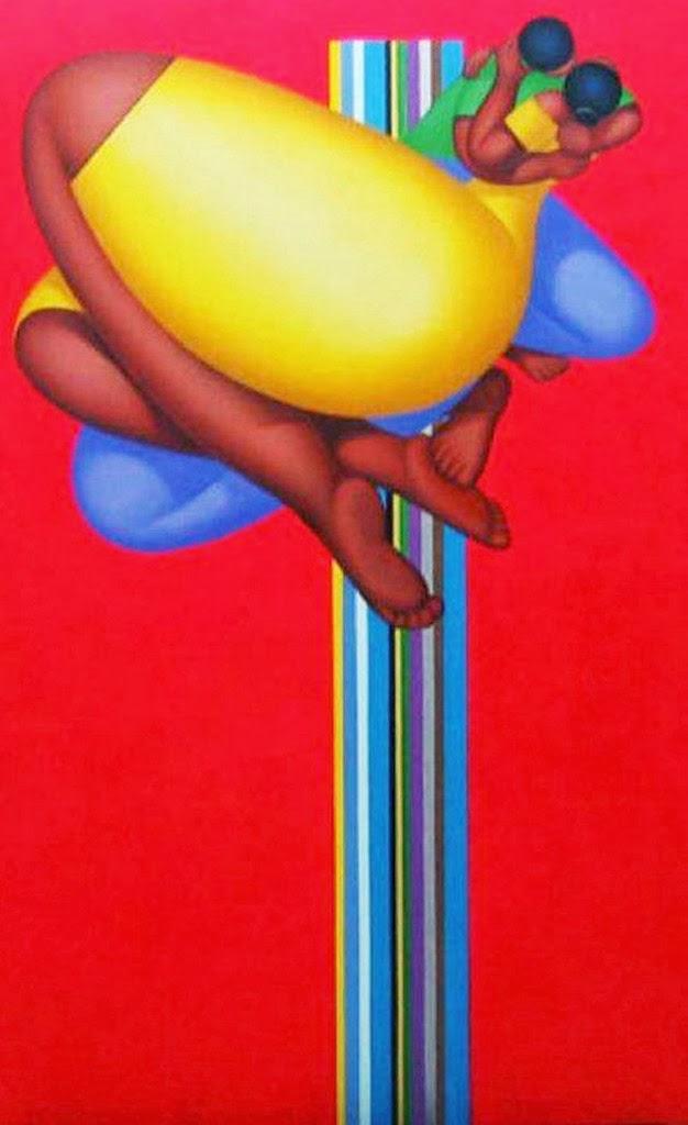 Cuadros pinturas oleos cuadros figura humana arte for Imagenes de cuadros abstractos geometricos