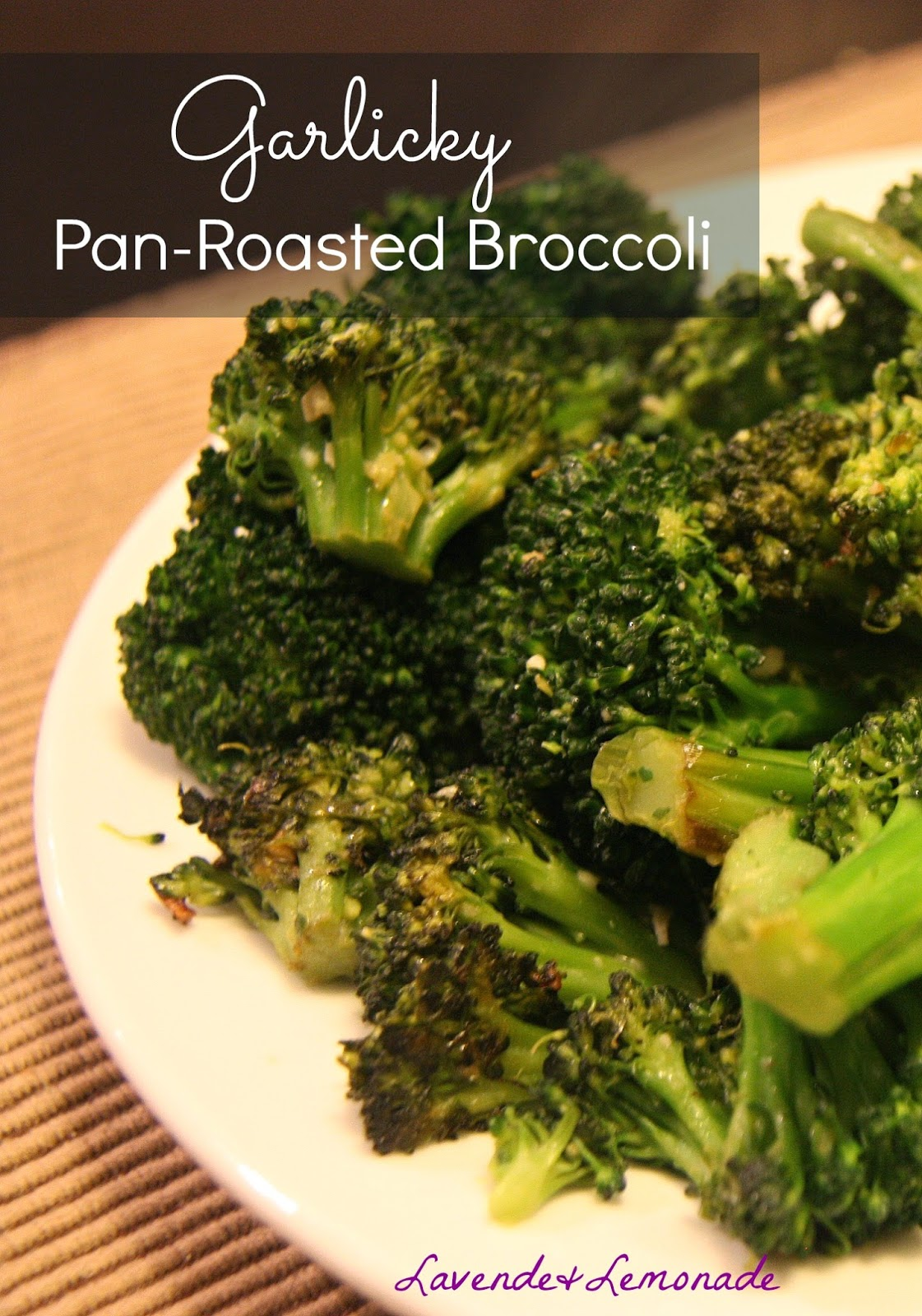 Garlicky Pan-Roasted Broccoli