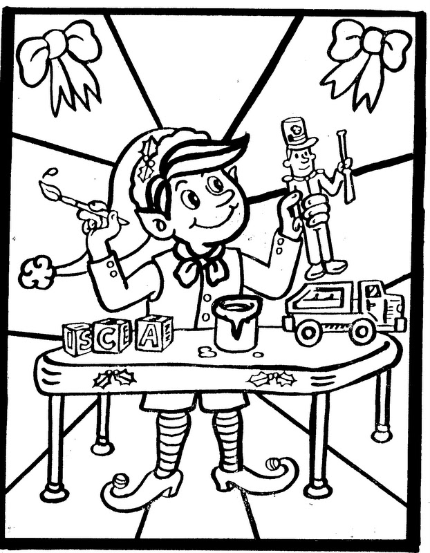 Elementary School Enrichment Activities Christmas Coloring Pages For Elementary School