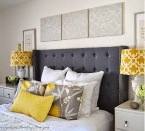 Beautiful Chambre Design Jaune Orange Contemporary - Design Trends ...