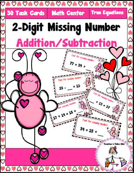 2-Digit Missing Numbers