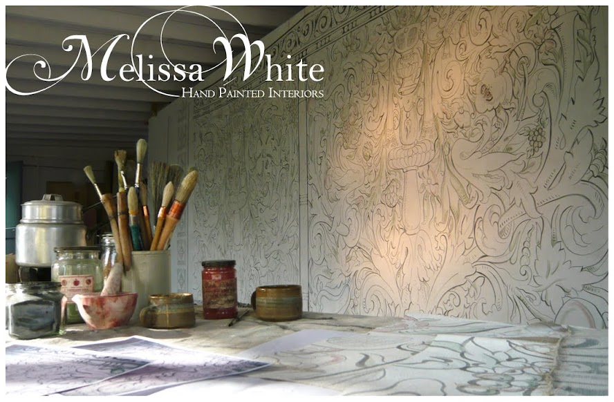 Melissa White Hand Painted  Interiors