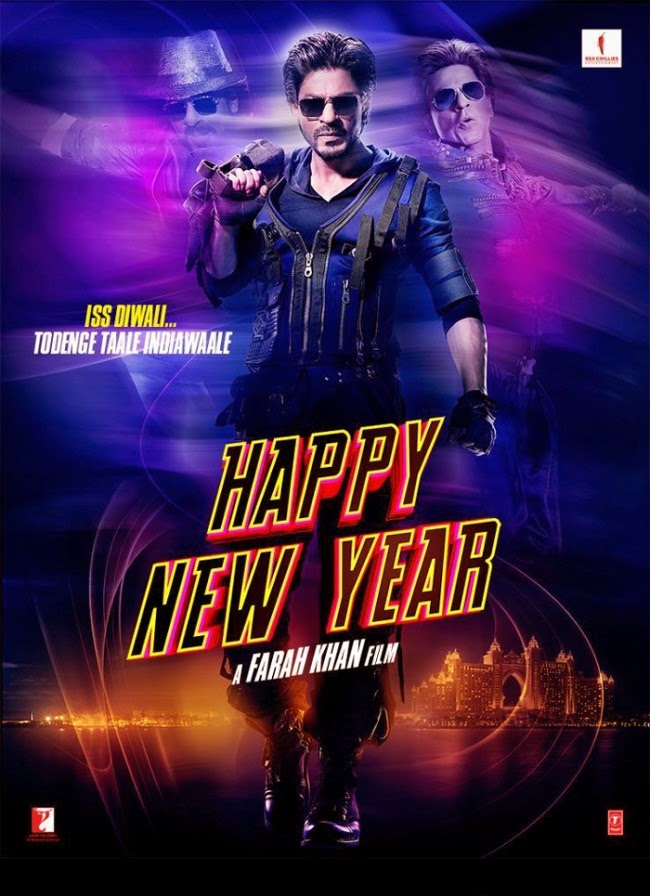 Shahrukh khan Happy new year latest box office records