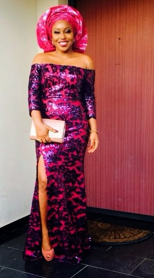 CHECK OUT WHAT RITA DOMINIC WORE TO THE WEDDING OF ITA-GIWA S DAUGHTERRita Dominic Wedding Pictures