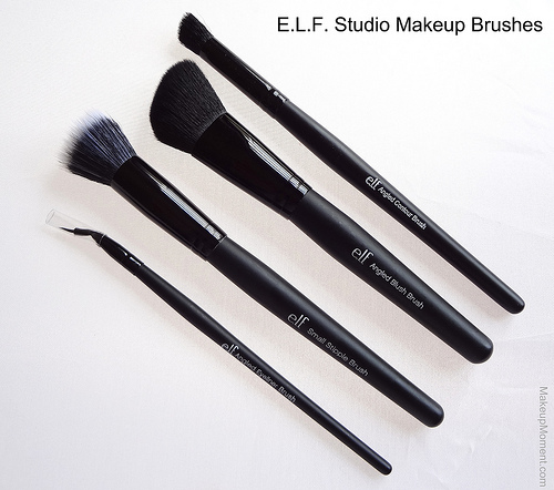 how to use elf angled contour brush