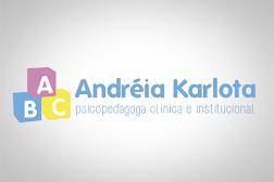 Psicopedagoga Andréia Karlota