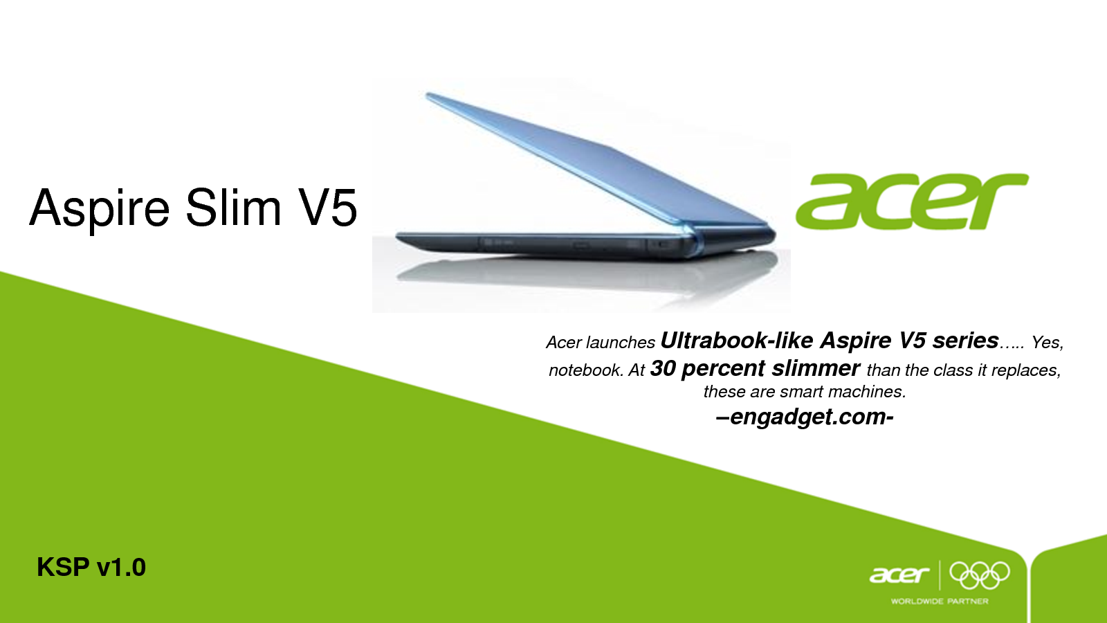 ACER V5 471G ASPIRE SLIM