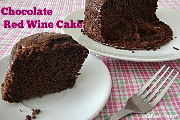 Chocolate and Red Wine Cake