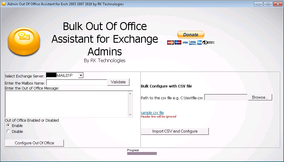 Rk 13log bulk out of office assistant for exchange admins - Out of office outlook 2013 ...