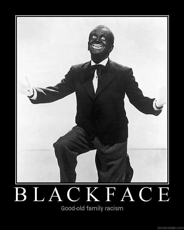 Bing Crosby Blackface A local radio host had a very