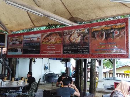 warung pak mat, warung pak mat pulau pisang, sup kepala ikan, teh tarik madu, tempat makan sedap kelantan