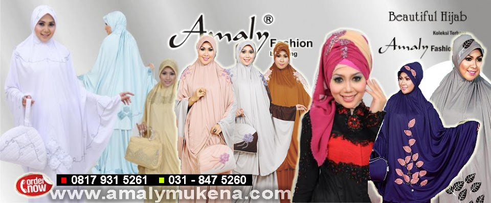 amaly mukena distributor mukena amaly by awing diskon 35-45% - 0817 931 5261 / 031-8475260