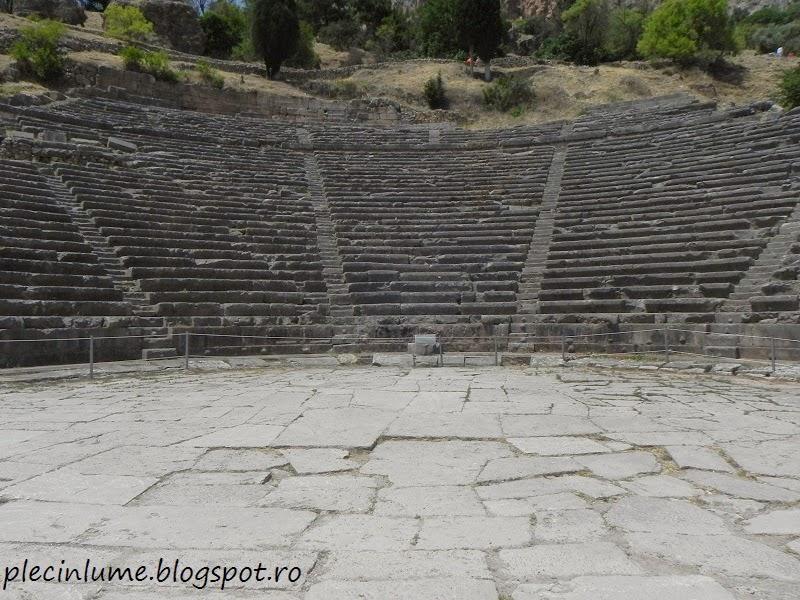 Amfiteatrul din Delphi
