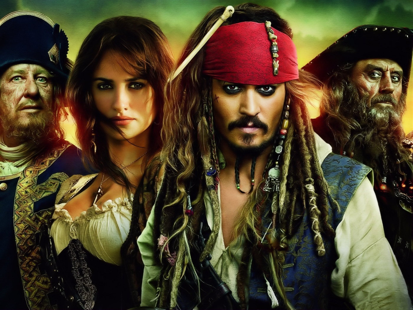 wallpapers photo art pirates of the caribbean 4 wallpaper